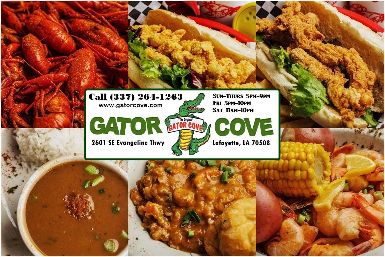 Gator Cove Crawfish & Seafood Restaurant in Lafayette, LA