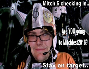 Mitch Fest Promo Poster on Facebook.