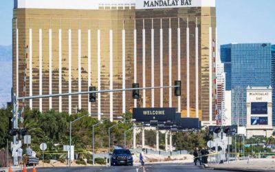 Vegas shooting survivor sues hotel, festival organizer, 'bump stock' maker, Paddock estate